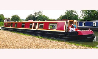 """69' Four Berth Canal Boat """"Bosworth"""" In Stoke Golding"""