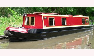 """49' Two Berth Canal Boat """"Ashby"""" In Stoke Golding"""