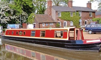 """62' Canal Cruiser """"Ambion"""" In Stoke Golding"""
