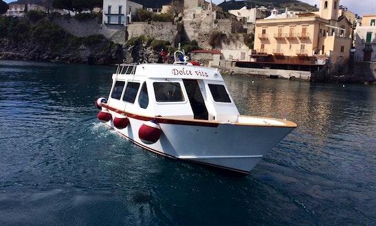 'dolce Vita' Boat Sightseeing Trips In Lipari