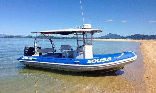'sousa' Boat Diving & Snorkeling Charter In Wongaling Beach
