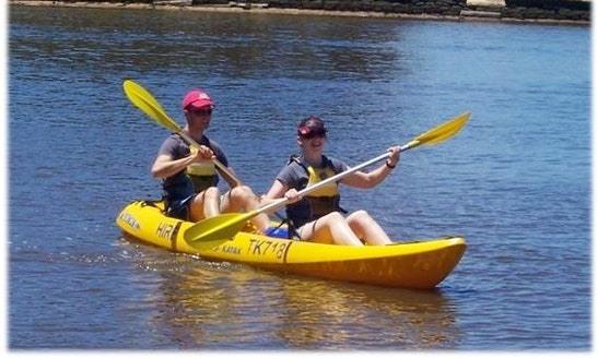Doble Kayak Rental In Quincy