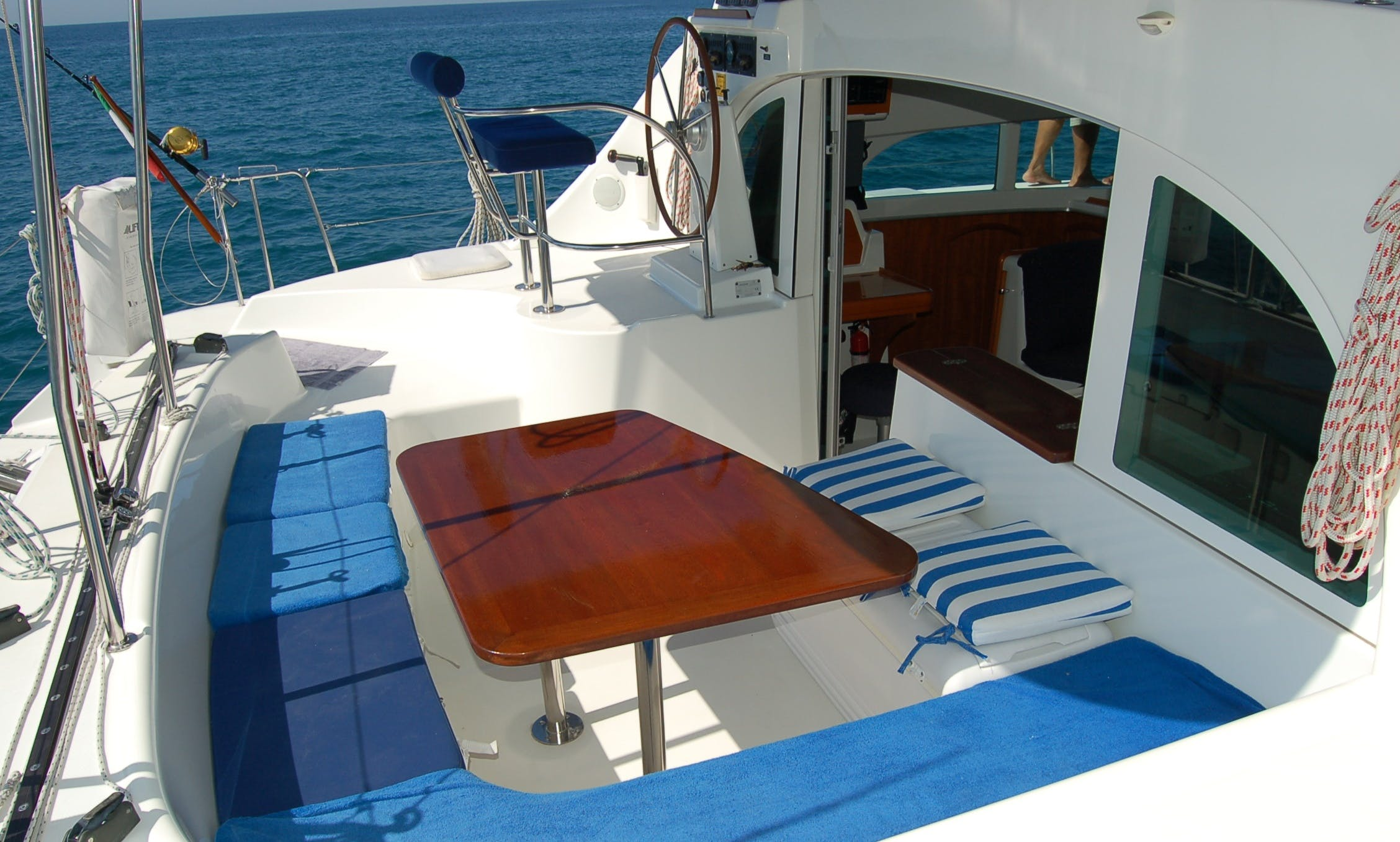"Crewed Charter on 38ft ""Cynthia"" Lagoon Sailing Catamaran In Puerto Vallarta, México"