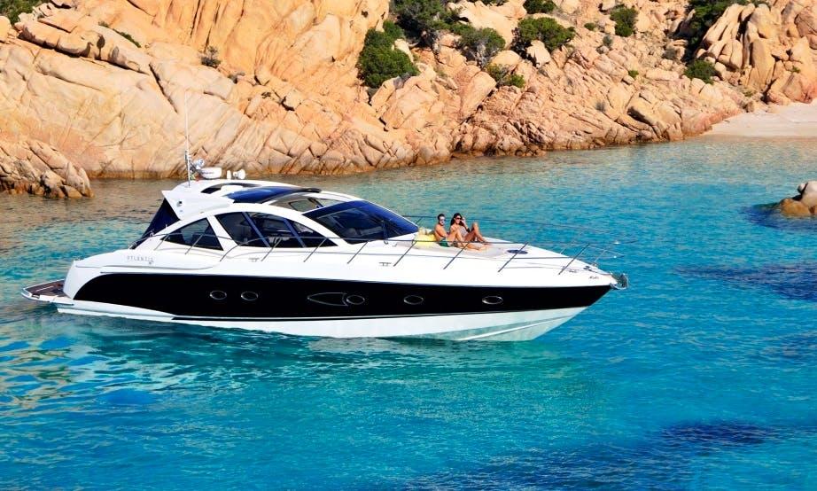 Atlantis 50 Luxury Yacht In Olbia