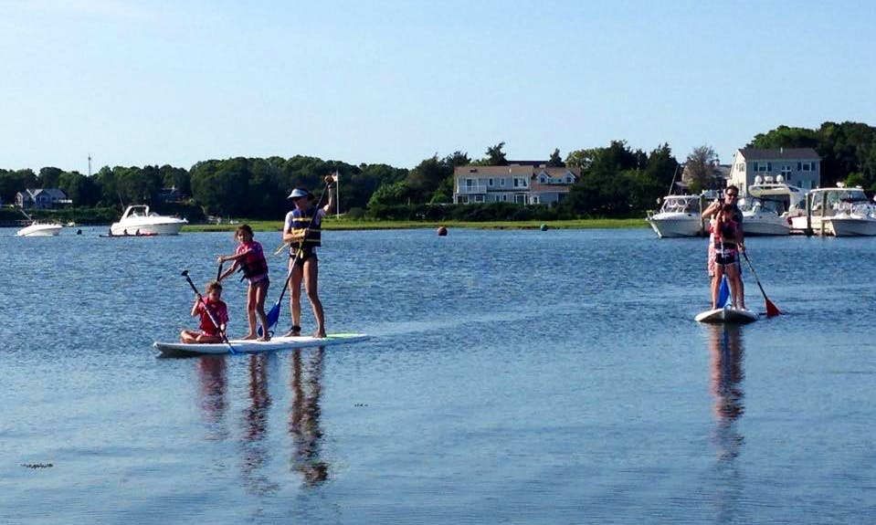 Rent a Paddleboard and Explore Bass River in Dennis Town