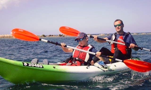 Tandem Kayak Rental in Il-Gzira, Malta