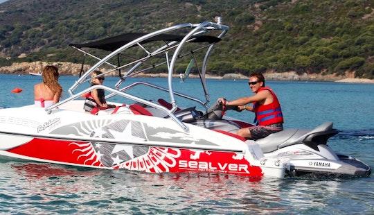 Sealver Wave Boat  Hirel In Cargèse
