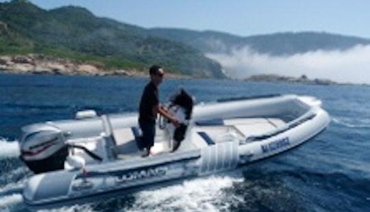 Lomac 5.5m Boat Hire In Cargèse