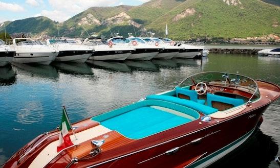 27' Riva Aquarama  Motor Yacht Rental In Iseo, Italy