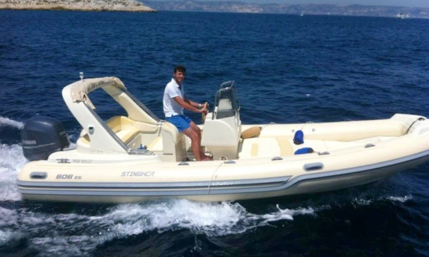 Stingher 660 Boat Hire in Marseille