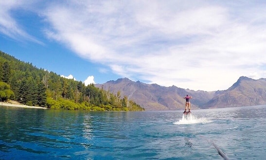 Flyboarding In Queenstown
