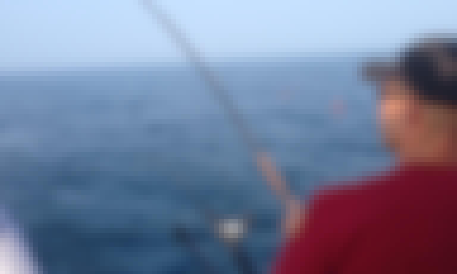 Muskegon Fishing Charter on 31ft Tiara Pursuit with Captain Matt