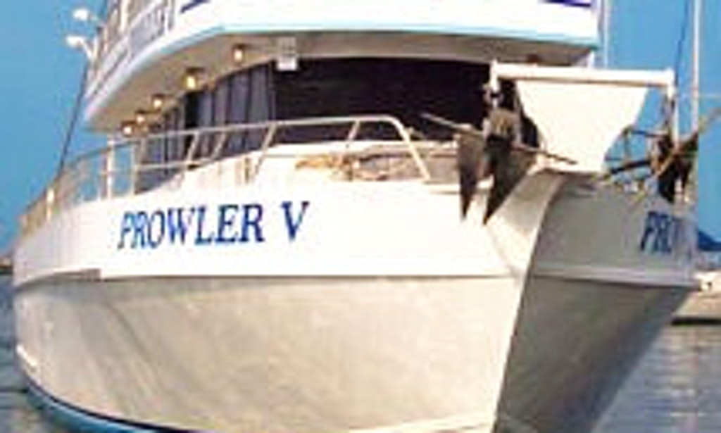 80ft prowler v fishing charter in atlantic highlands for Atlantic highlands fishing boats