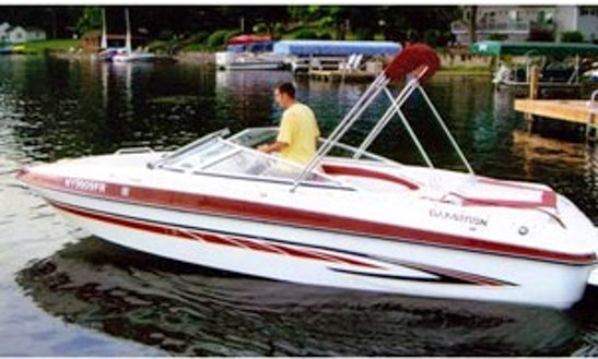 21' Open Bow Ski Boat In Pulteney
