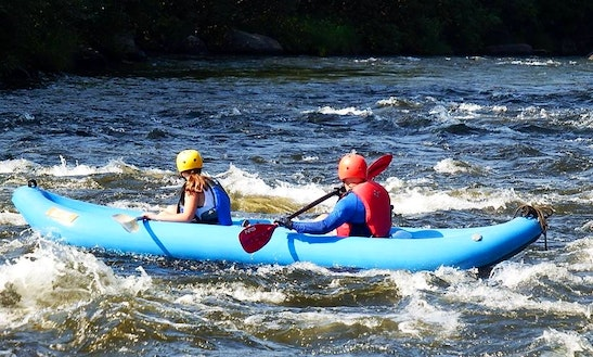 Inflatable Kayak Rental & Trips In Errol, New Hampshire