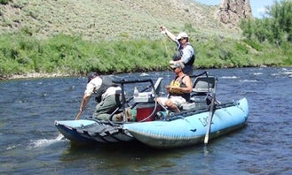 Guided River Float Trips On 15' Dinghy In Gunnison, Colorado