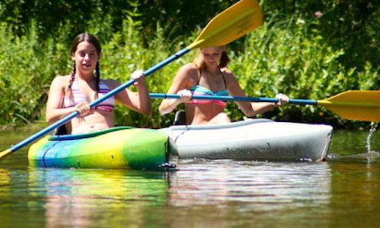 Kayak Rental In Hill Township, Michigan