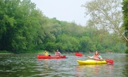 Kayak Rental & Trips In Grayling Township, Michigan