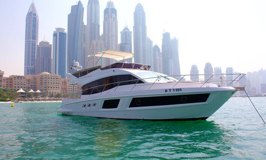 Experience The 48ft Majesty Luxury Yacht In Dubai, Uae