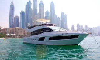 Experience the 48ft Majesty Luxury Yacht In Dubai, UAE