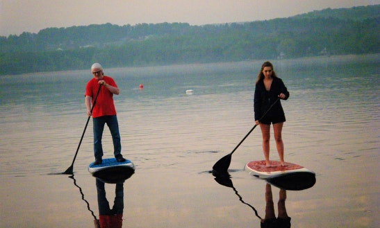 Stand Up Paddleboard Rental In East Jordan
