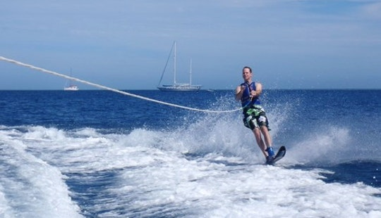 Water Skiing In Fiji