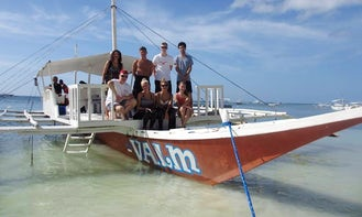 'Valm' Outrigger Boat Diving Trips In Bohol