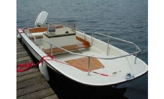 15ft Boston Whaler Dinghy Boat Rental In North Haven, Maine