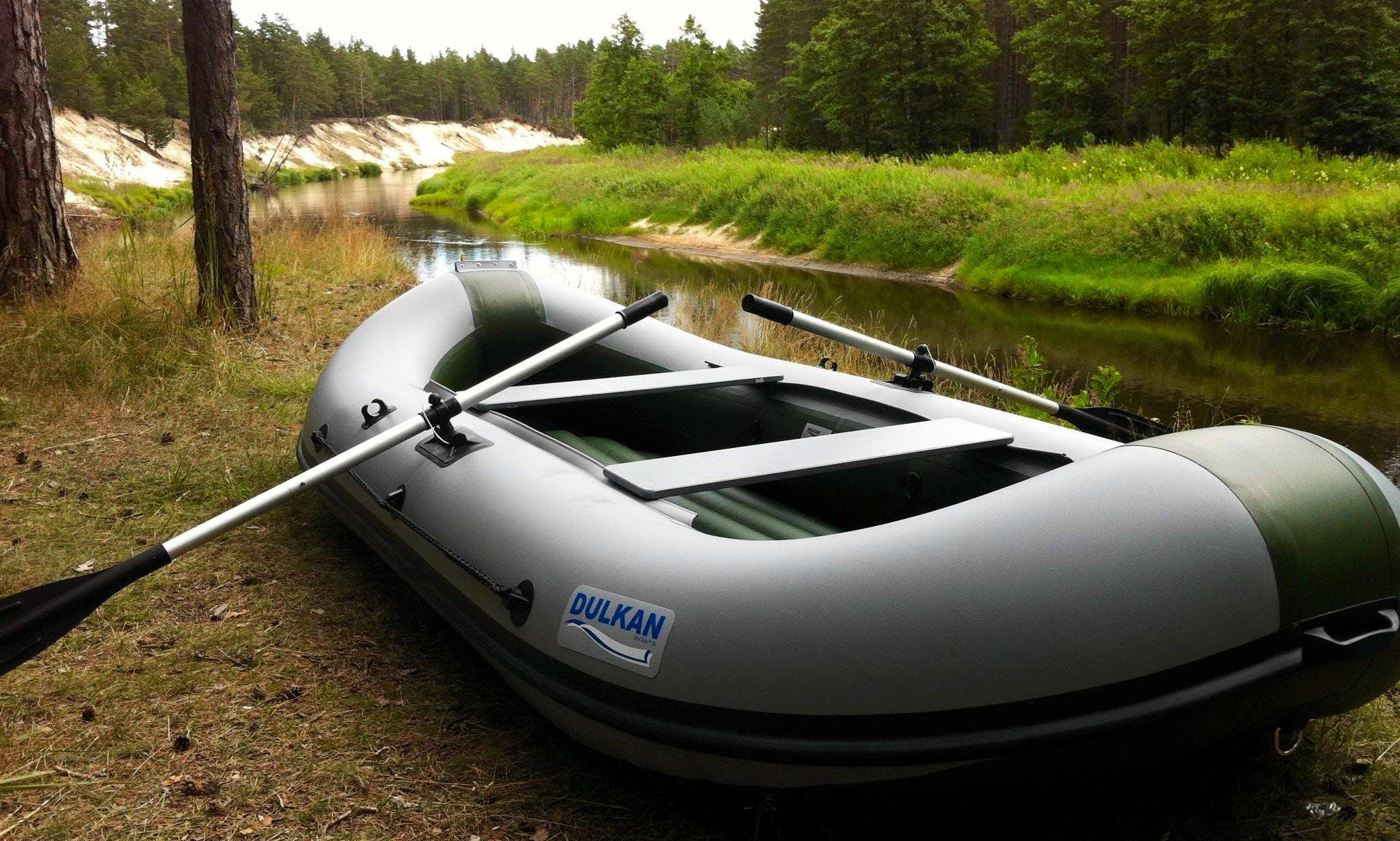 Rent a Dulkan Raft for 4 People in Rīga, Latvia
