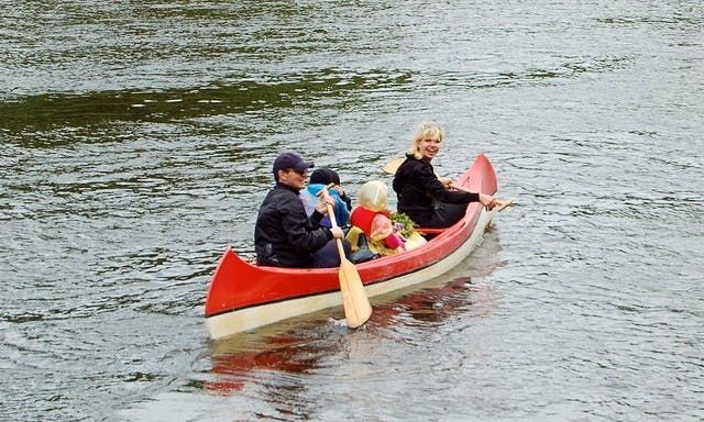 4-Person Canoe Available for Rent in Rīga, Latvia