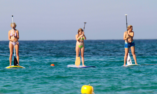 Stand Up Paddleboard Lessons In Olbia Sardegna