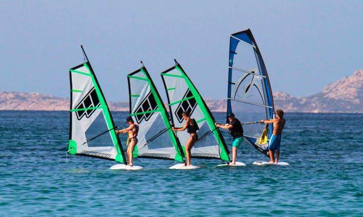 Windsurfing Lessons in Olbia Sardegna