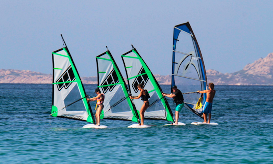 Windsurfing Lessons In Olbia Sardegna