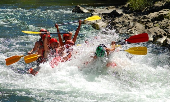 White Water Rafting Trips In Navarrenx