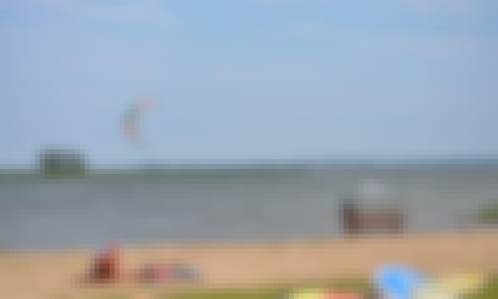 Kitesurfing Lesson in Wilkasy, Poland
