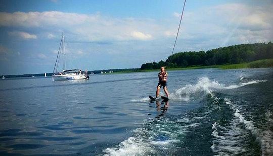 Water Skiing In Wilkasy