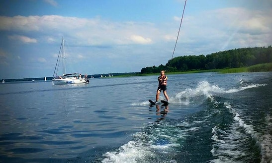 Water Skiing In Wilkasy