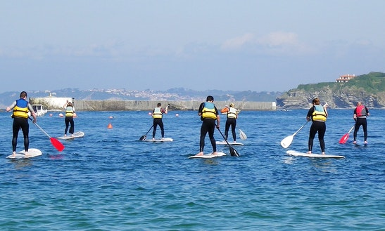 Stand Up Paddleboard Hire In Ciboure
