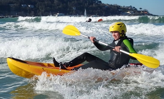 Kayak Surf & Wave Ski Hire In Ciboure
