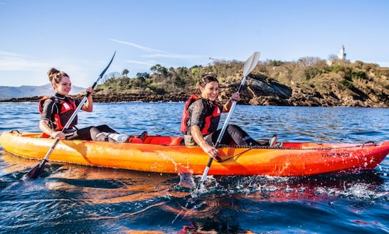 2-person Sea Kayak Hire In Ciboure