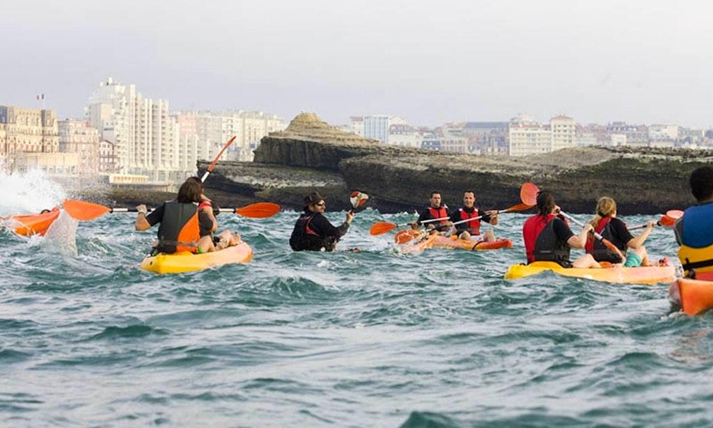 2 Person Sea Kayak Hire In Ciboure