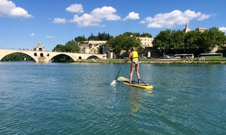 Stand Up Paddling In Avignon