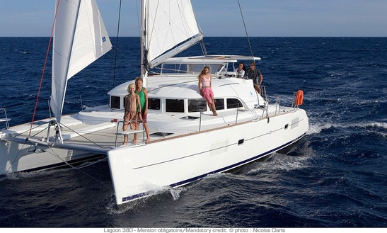 Lagoon 380 Cruising Catamaran Charter In Palermo