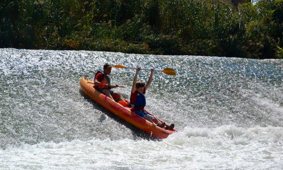 Two Person Sit On Top Kayak for Hire in Blanca, Murcia