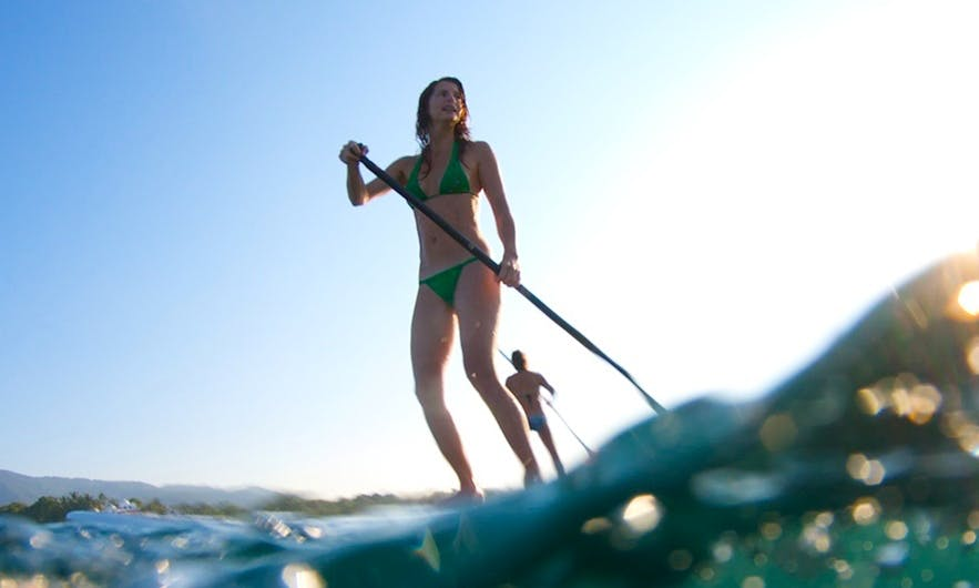 SUP and lots of adventure in Tibau do Sul