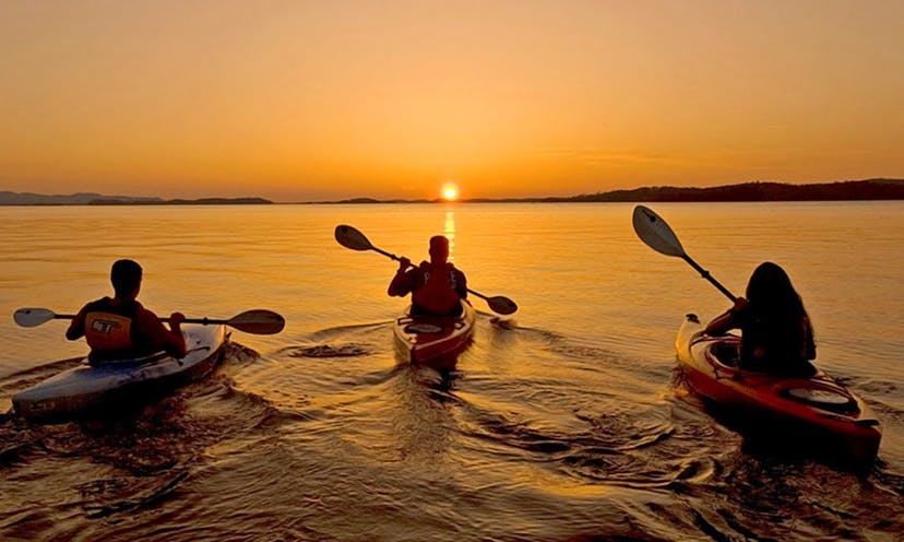 Kayak and adventures in Tibau do Sul