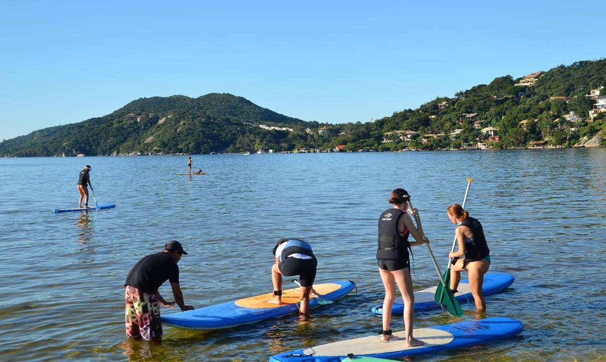 Paddleboard in Florianópolis