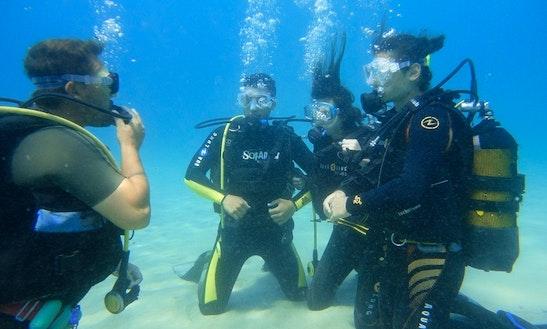Scuba Diving In Vorios Tomeas Athinon