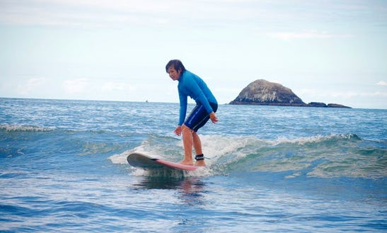 Surf Lessons In Muriwai