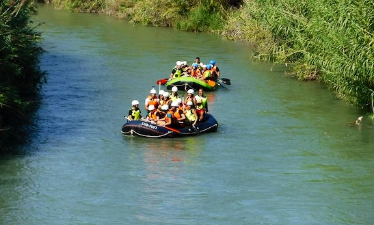 River Rafting In Abarán